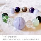~kaoru.stone~ 「あなたに必要」な石で作るオーダーメイドの開運ブレス 【女性用】 左手用引き寄せブレスレット (メインが14~18mmサイズのストーン)