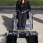 車椅子車輪洗浄器