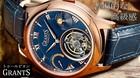 【送料無料】【5年保証】日本未上陸 GRANTS トゥールビヨン メンズ 腕時計 機械式