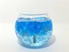 (hmc)パワーストーンキャンドル  水晶(青)