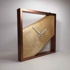 木の壁掛け時計<マカバ>