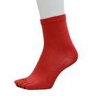 【送料無料】ランニングソックス5本指 SEMILONG RED M(25-28cm)
