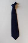 本藍染絞りネクタイ 絹麻むらくも絞り