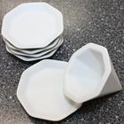 【送料無料】風水で吉とされる八角形 八角盛り塩セット(八角素焼き皿5枚+盛塩固め器) 小サイズ