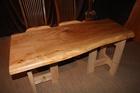■U-374 樺の一枚板テーブル