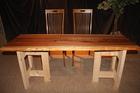 ■U-376 杉の一枚板テーブル