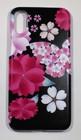 iphoneX用スマホカバー 桜と蝶