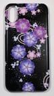 iphoneX用スマホカバー 梅
