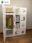 【送料無料】最新型組み立て式収納ボックス 3段2列6扉収納ボックス キャラクター入り 収納家具