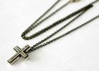 N Cross Pendant -十字架-