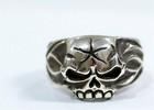 Skull Star Ring -髑髏-