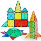 日本初 磁石ブロック マグネットパズル 積み木 誕生日プレゼント 想像力を育む 子ども 知育おもちゃ 100ピース