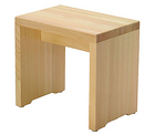 ひのき箱型椅子(大)