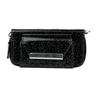 Zip Up glitter Case (Black) for IQOS