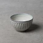 白釉【はくゆう】彫  飯椀