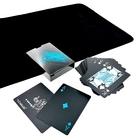 ブラック トランプ 黒い マジック カード 手品 ポーカー 大富豪 (クロースアップ マット セット)