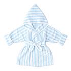【公式 赤ちゃんの城】 バスローブ パステルベア サックス
