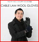 【送料無料】イタリアの高品質の革を使用したスマホ対応メンズ手袋!