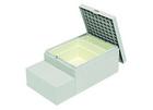 ハウスステップ ボックスタイプ収納庫2コ付き・小ステップあり CUB-8060S【お庭との段差を解消する多機能ステップ】
