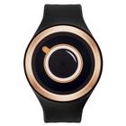 【送料無料】ZEROO COFFEE TIME ゼロ 電池式クォーツ 腕時計 [W00301B05SR02] ブラック デザインウォッチ ペア用 メンズ レディース ユニセックス おしゃれ時計 デザイナーズ