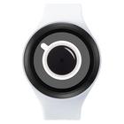 【送料無料】ZEROO COFFEE TIME ゼロ 電池式クォーツ 腕時計 [W00302B03SR01] ホワイト デザインウォッチ ペア用 メンズ レディース ユニセックス おしゃれ時計 デザイナーズ