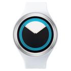 【送料無料】ZEROO DEEPSKY SWEEPING ゼロ 電池式クォーツ 腕時計 [W00401B01SR01] ホワイト デザインウォッチ ペア用 メンズ レディース ユニセックス おしゃれ時計 デザイナーズ
