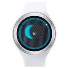 【送料無料】ZEROO SECRET UNIVERSE ゼロ 電池式クォーツ 腕時計 [W00501B01SR01] ホワイト デザインウォッチ ペア用 メンズ レディース ユニセックス おしゃれ時計 デザイナーズ