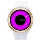 【送料無料】ZEROO MAGIA AURORA ゼロ 電池式クォーツ 腕時計 [W00801B05SR01] ホワイト デザインウォッチ ペア用 メンズ レディース ユニセックス おしゃれ時計 デザイナーズ