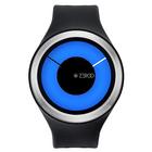 【送料無料】ZEROO MAGIA AURORA ゼロ 電池式クォーツ 腕時計 [W00802B01SR02] ブラック デザインウォッチ ペア用 メンズ レディース ユニセックス おしゃれ時計 デザイナーズ