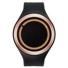 【送料無料】ZEROO PLANET ECLIPSE ゼロ 電池式クォーツ 腕時計 [W00903B05SR02] ブラック デザインウォッチ ペア用 メンズ レディース ユニセックス おしゃれ時計 デザイナーズ