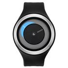 【送料無料】ZEROO CRESCENT MOON ゼロ 電池式クォーツ 腕時計 [W01101B01SR02] ブラック デザインウォッチ ペア用 メンズ レディース ユニセックス おしゃれ時計 デザイナーズ