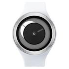 【送料無料】ZEROO CRESCENT MOON ゼロ 電池式クォーツ 腕時計 [W01102B01SR01] ホワイト デザインウォッチ ペア用 メンズ レディース ユニセックス おしゃれ時計 デザイナーズ