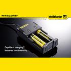 【送料無料】 NITECORE 電子たばこ VAPE バッテリー 充電器 チャージャー 18650 21700 20700 26650 18350 NITECORE Intellicharger I2