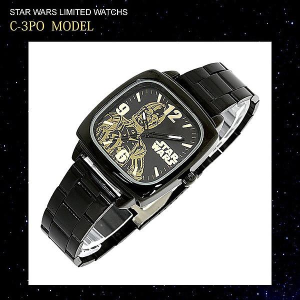 【ポイント交換モール】 映画で大人気のスターウォーズ STAR WARS 腕時計 STORMTROOPER C-3PO ディズニー グッズ