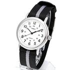 TIMEX タイメックス 腕時計 TW2P72200 WEEKENDER REVERSIBLE/ウィークエンダー リバーシブル ミリタリーウォッチ メンズ レディース 時計 アナログ カジュアル ブラック グレー ホワイト ストライプ インディグロナイトライト搭載
