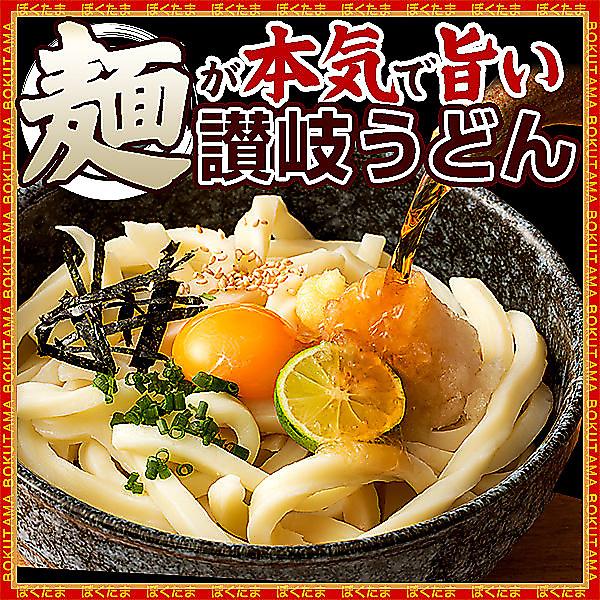【MM】ご当地うどん 麺が本気で旨い 讃岐うどん お試しセット 4人前