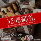 送料無料 ハイビターチョコ 想いをのせる宝石箱「幸せとショコラ」 ミニスクエア型2個入りx10個セット マンディアンチョコ 内祝い チョコレート