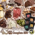 【完売】チョコレート 割れチョコ アソート 全43種類コンプリートセット [ 訳あり スイーツ 送料無料 チョコ 割れチョコレート クーベルチュール バレンタイン 大量 ]