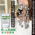 【新発売】食べる乳酸菌青汁!青汁が苦手な方にも続けやすく!野菜嫌いも青粒で手軽に栄養を!