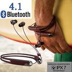 Bluetooth 4.1 イヤホン 無線ランニング ヘッドセット IP67 防水 スポーツ ネックバンド ブルートゥースイヤホン 高音質ワイヤレスイヤホン iphoneイヤホン