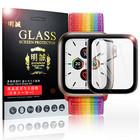 Apple Watch Series 5 ガラスフィルム ソフトフレーム フルーカバー Watch Series 5 ガラスフィルム アップルウォッチ Series 5 強化ガラス保護フィルム Apple Watch Series 5 強化ガラス保護フィルム 40mm/44mm 送料無料