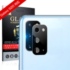 GALAXY S20 カメラ保護フィルム 防気泡 防汚コート 1.02mm薄型 レンズガード アルミニウムカバー 全面保護 傷防止 指紋防止 一体感抜群 高透過率 自動吸着 GALAXY S20 SCG01 レンズ保護ガラスシール 送料無料