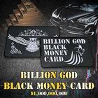 強制【億り人】へ!?爆運カード★神の使い「不苦労(フクロウ)」の力を所持!『ビリオンゴッド ブラックマネーカード』