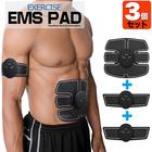 マッスル・トレーナー腹筋EMS トレーニングパッド/腹筋用パッド+腕・脚用(6モード,貼るだけ,男女兼用,筋トレ)