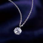 【73%OFF】天然ダイヤモンド0.3ct☆最高ランクプラチナ900ネックレス[宝石鑑別書付き]