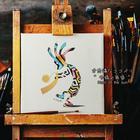 奇跡を呼びこむ精霊ココペリ絵画で幸福実現へ!!『不思議なココペリ-太陽の角笛-』