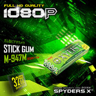 スパイダーズX 1080P LEDライト 32GB対応 ガム型カメラ M-947M ミント