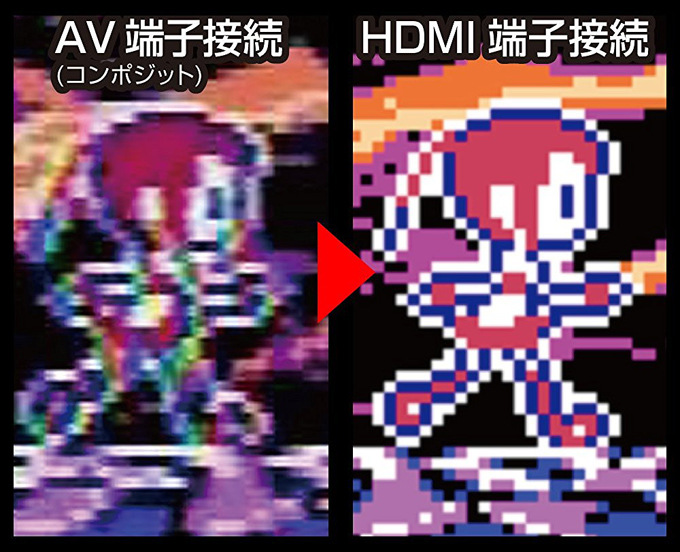 スーパーファミコン hdmi