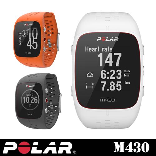 【POLAR(ポラール)】手首型6LED光学式心拍計搭載 GPSランニングウォッチ「Polar M430」