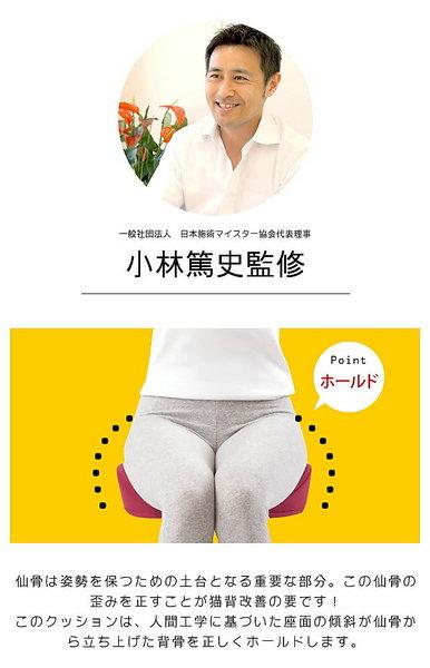 【タイムセール】仙骨クッション 仙律